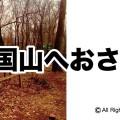 八国山へおさんぽ