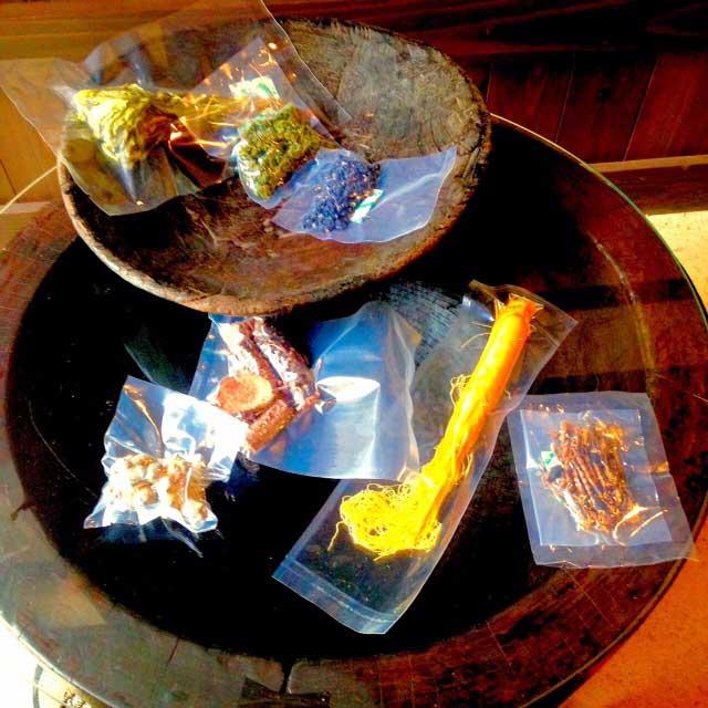 薬酒用の漢方原材料