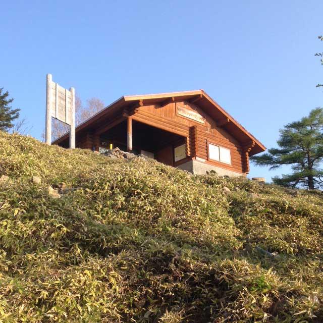 雲取山の登山写真「雲取山避難小屋」
