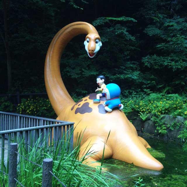 川崎市 藤子・F・不二雄ミュージアム「のび太の恐竜」