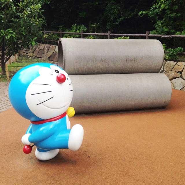 川崎市 藤子・F・不二雄ミュージアム「ドラえもんと土管」