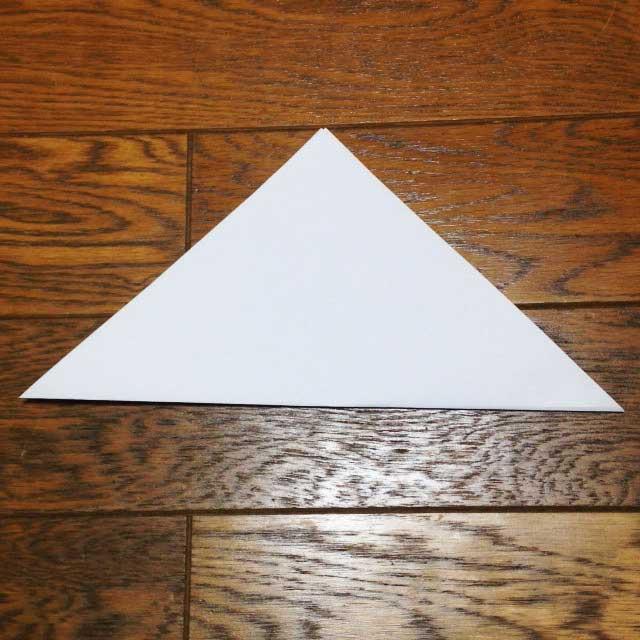 フライドポテトとイラスト「折り方2」