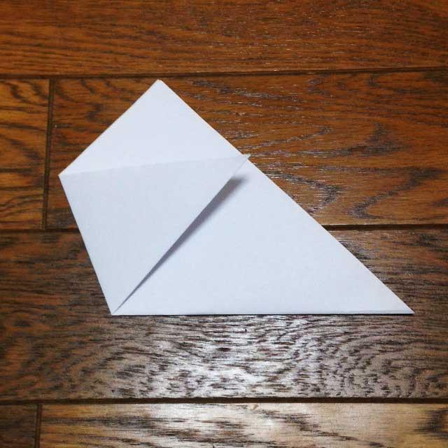 フライドポテトとイラスト「折り方3」