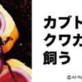 カブトムシ、クワガタを飼う「アイキャッチ画像」