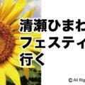 清瀬ひまわりフェスティバル「アイキャッチ画像」