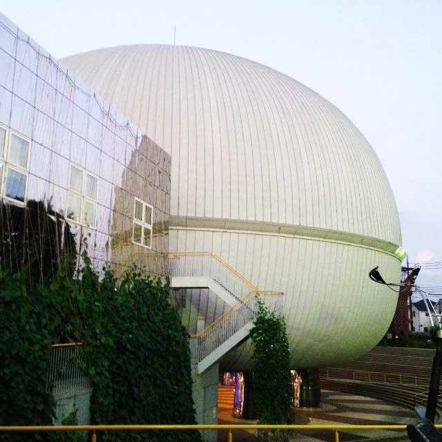 多摩六都科学館「外観」