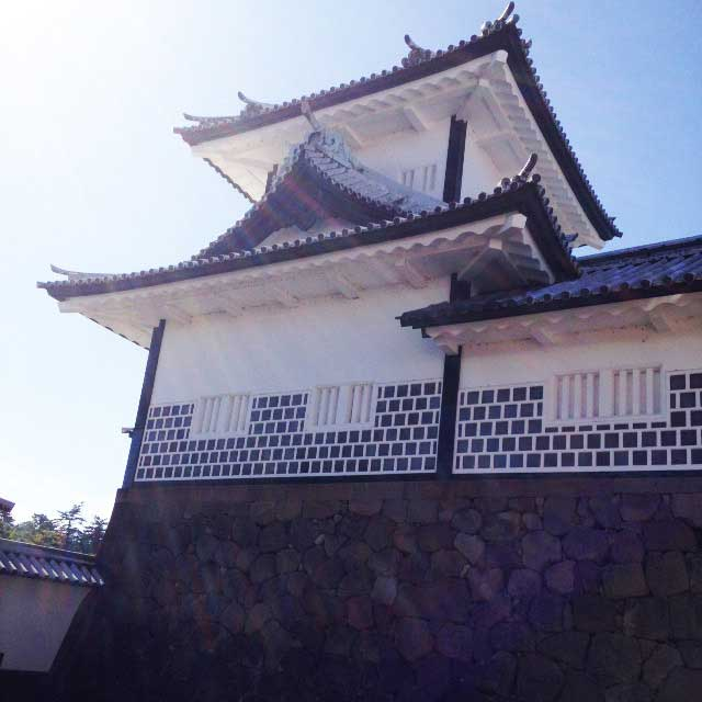 金沢・兼六園に行く「金沢城」