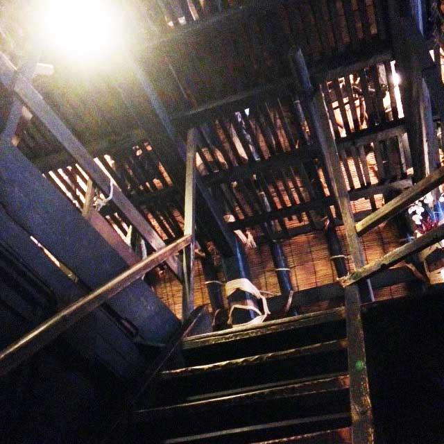 世界遺産・白川郷「階段」