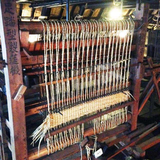 世界遺産・白川郷「織り機」
