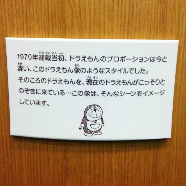 高岡市・藤子F不二雄ふるさとギャラリー「説明」