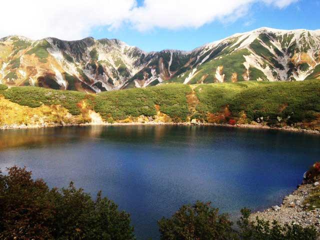 黒部・立山を歩く「みくりが池」