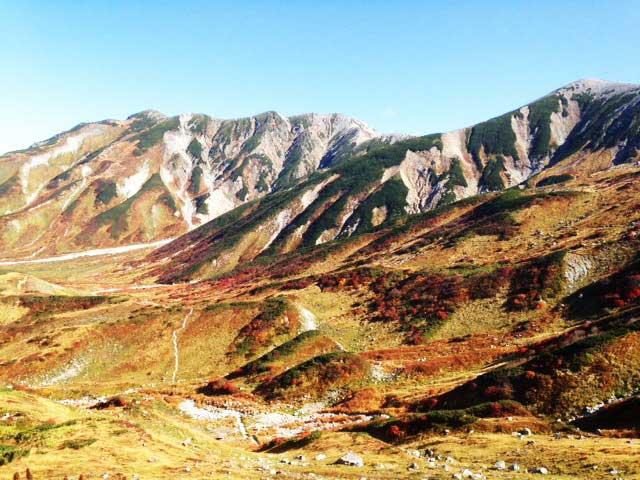 黒部・立山を歩く「紅葉」