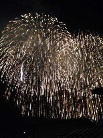 秩父夜祭「花火」