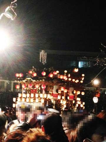 秩父夜祭「山車」