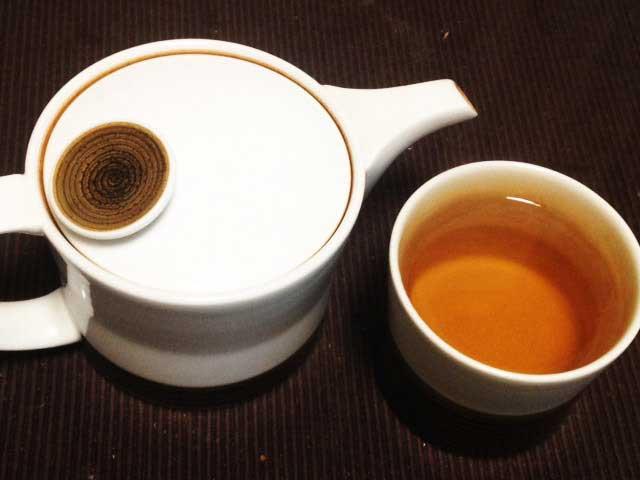 3日間断食「柿の葉茶」