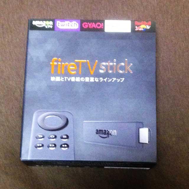 fireTVstick「パッケージ」