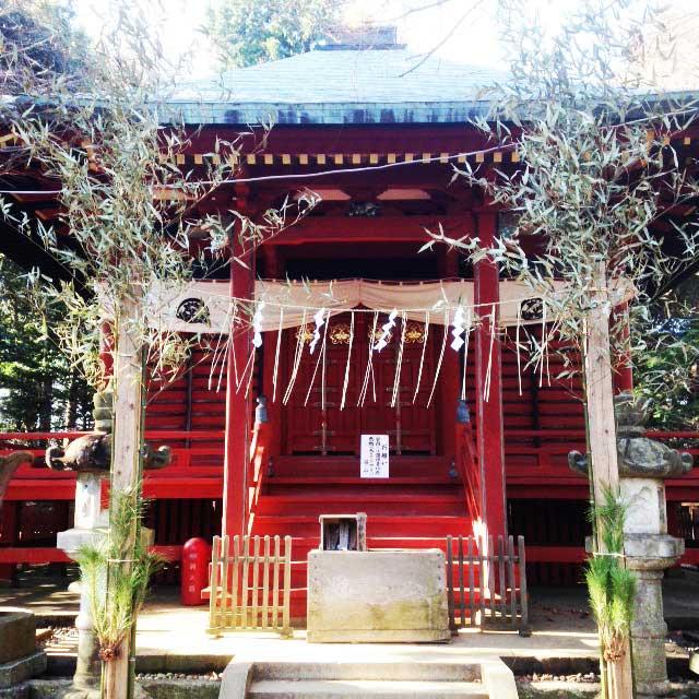 高尾山へ初詣「一番上の神社」
