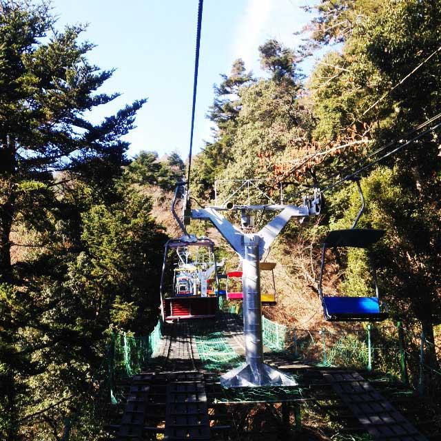 高尾山へ初詣「リフト」