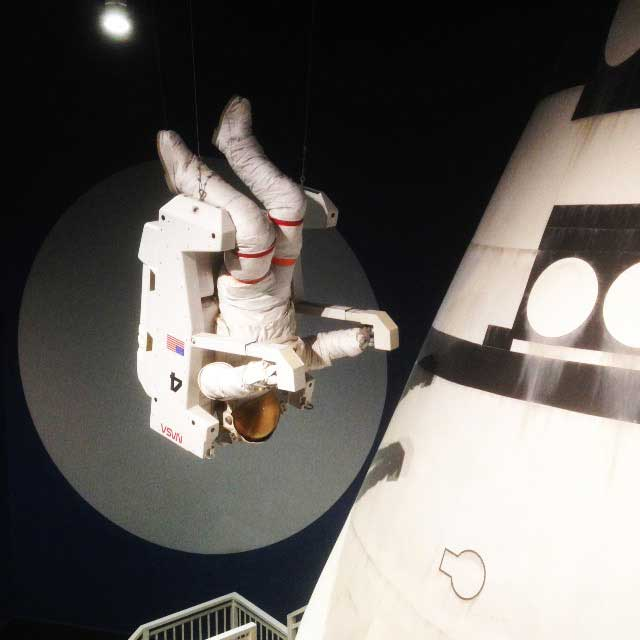 多摩六都科学館年間フリーパス購入「宇宙飛行士」