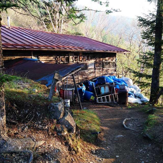 2017mの雲取山へ登る2「奥多摩小屋」