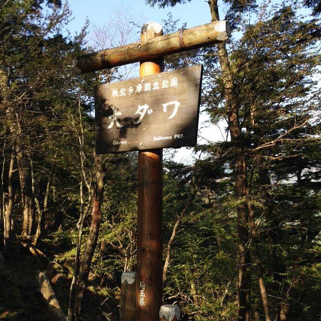 2017mの雲取山へ登る2「大ダワ」