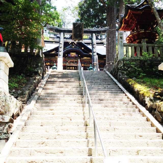 2017mの雲取山へ登る2「三峰神社」