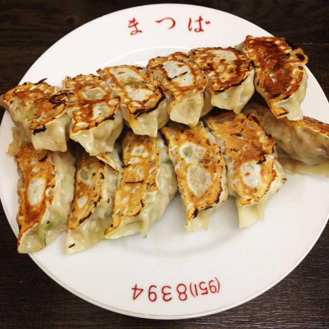 トキワ荘跡地とラーメン松葉「餃子」