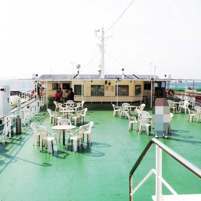 保田から安房勝山を歩く「東京湾フェリー」