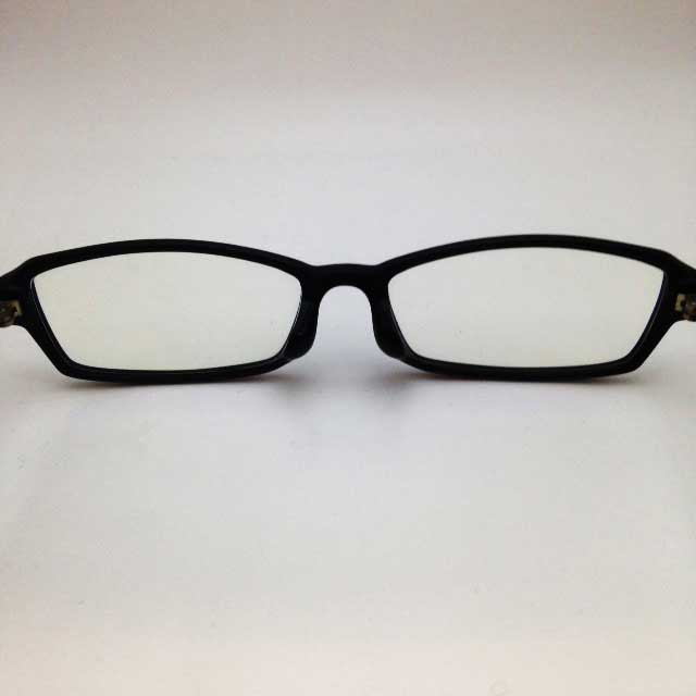 パソコン用メガネを使ってみた「紹介画像2レンズ」
