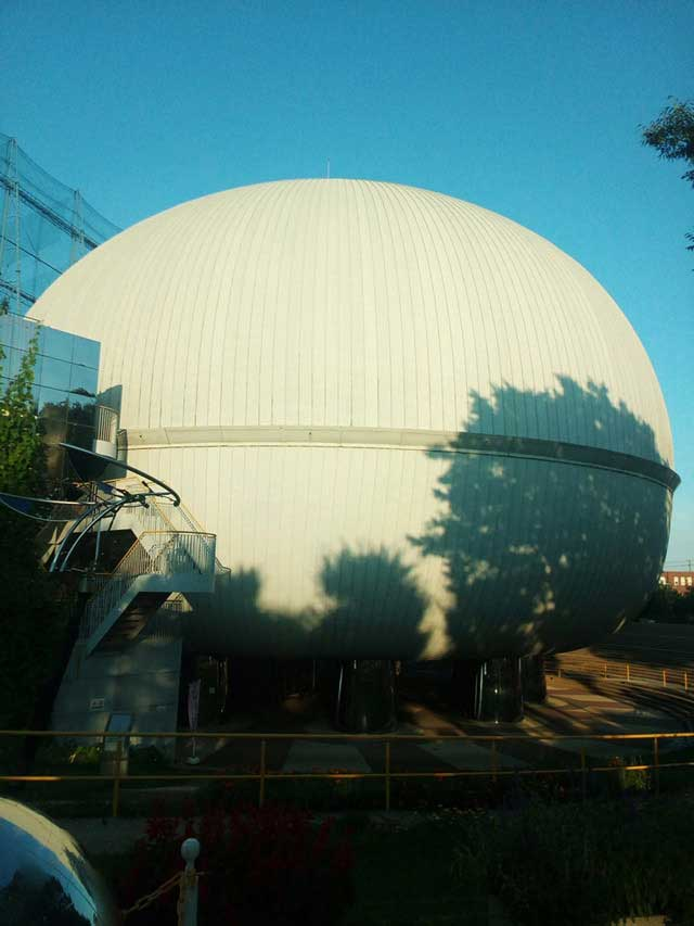 多摩六都科学館へ資料探し「サイエンスエッグ」