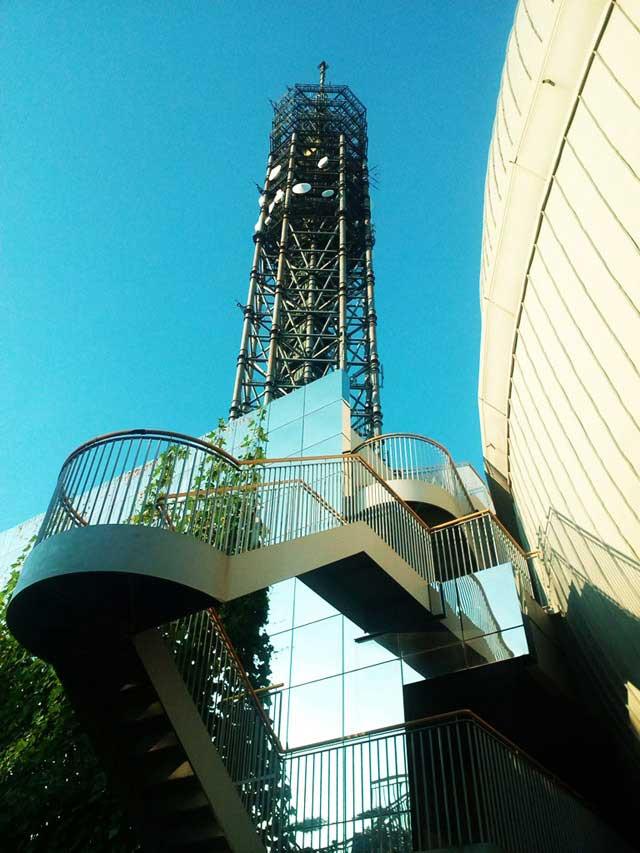 多摩六都科学館へ資料探し「スカイタワー西東京」