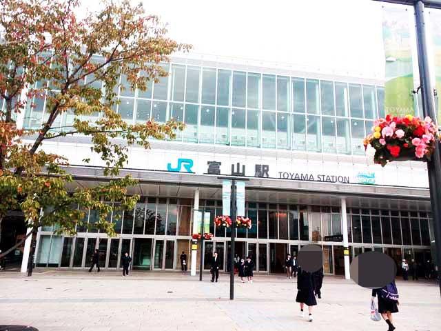 飛騨古川・高山へ行く「富山駅」
