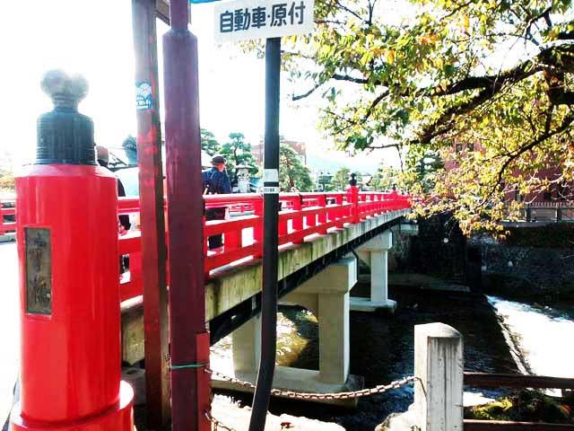 飛騨古川・高山へ行く「高山の町並み、中橋」