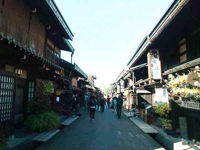 飛騨古川・高山へ行く「高山の町並み」