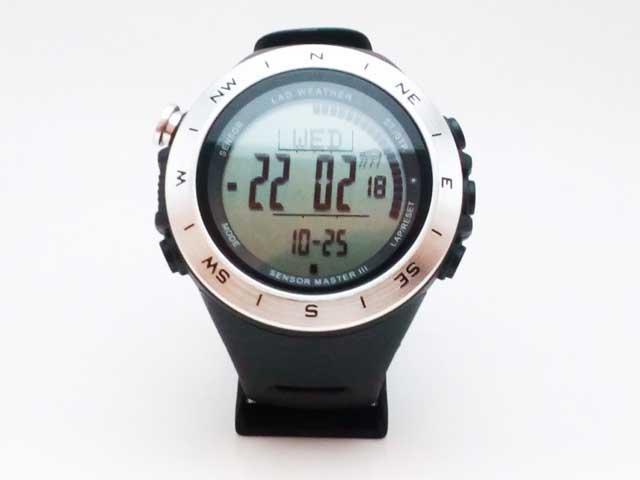 ラドウェザーを買ってみた「時計」
