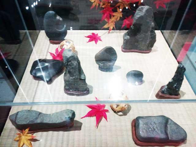 多摩六都科学館へ資料探し「石」