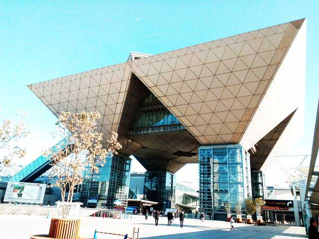 国際宝飾展2018へ行く「東京ビッグサイト」
