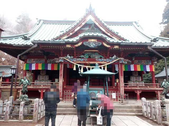 高尾山と599「参拝」