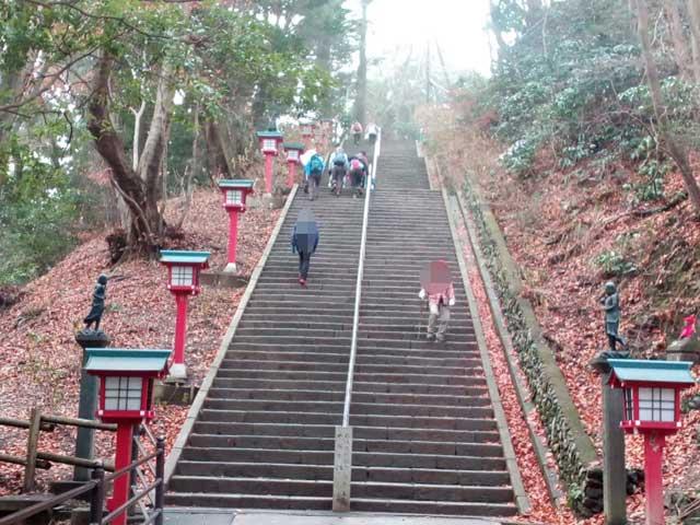 高尾山と599「108段の階段」