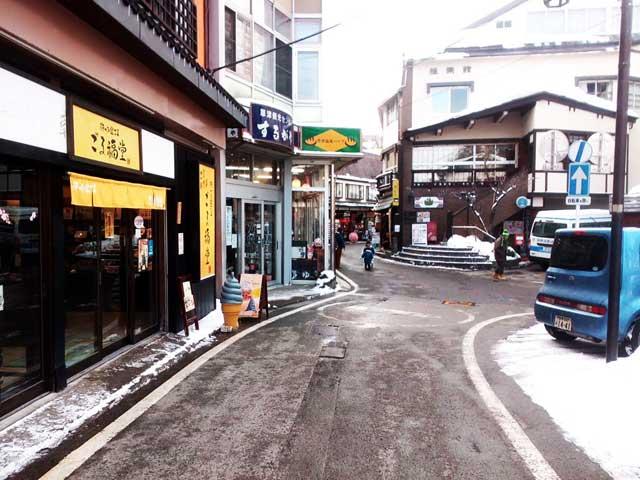 草津温泉へ行く2018「人が少ない」
