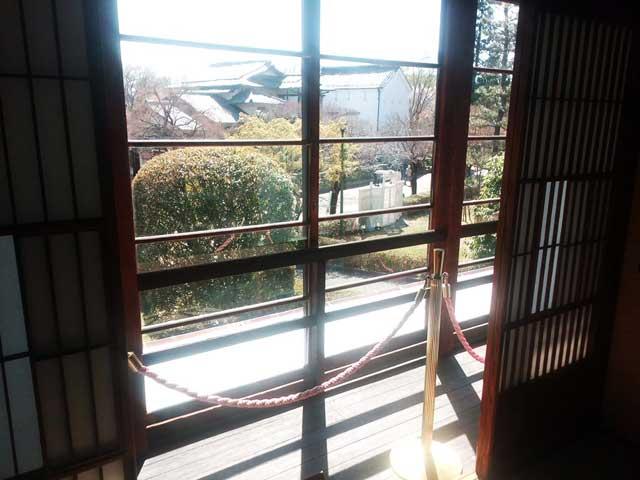 江戸東京たてもの園へ行く2018「縁側の眺め」