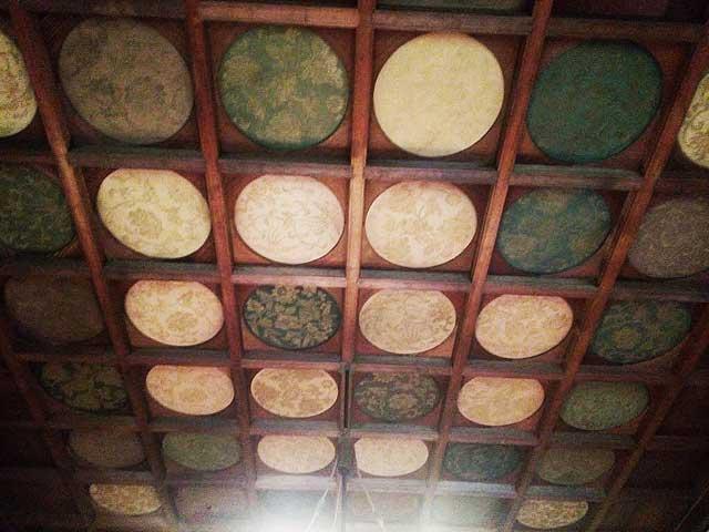江戸東京たてもの園へ行く2018「天井装飾」