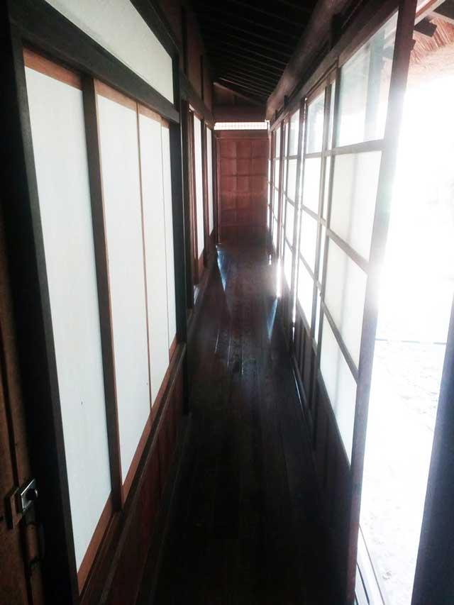 江戸東京たてもの園へ行く2018「廊下」