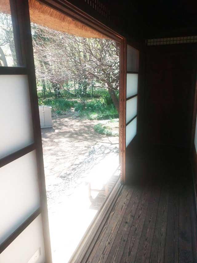 江戸東京たてもの園へ行く2018「縁側」