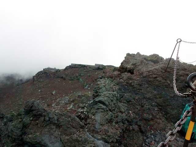 富士山に登る1「雲」