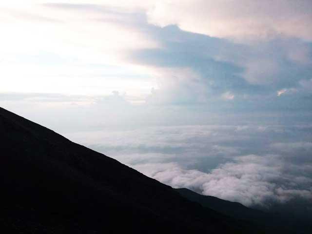 富士山に登る1「景色」
