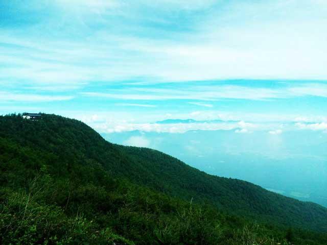 富士山に登る1「雲海」