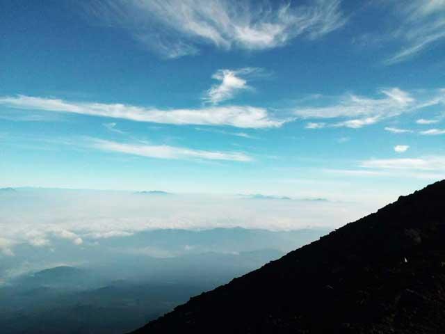 富士山に登る3「景色」