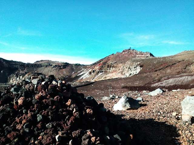 富士山に登る3「お鉢巡り」