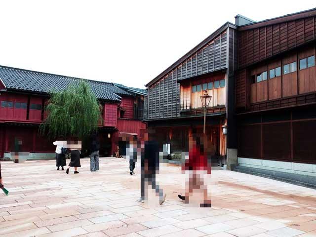 金沢を散策する「茶屋街」